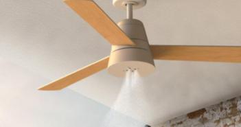 Llegan los ventiladores de techo con nebulizador incorporado de SÛLION - Diario de Emprendedores