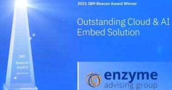 Enzyme recibe el prestigioso galardón IBM Beacon Award por segunda vez - Diario de Emprendedores